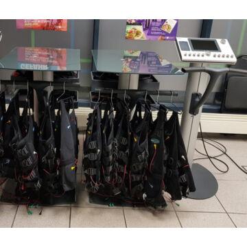 Miha Bodytec 2 plus equipment