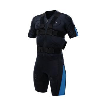 Hybrid Blue EMS training suit – no cables