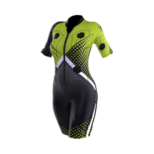 New Generation Venom EMS training suit with cables