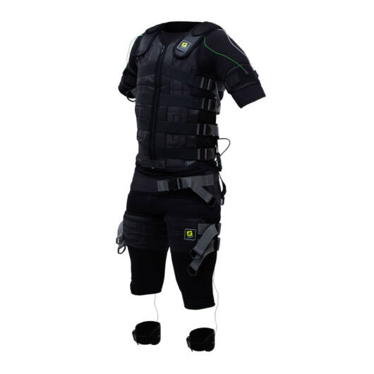 Click-on Professional EMS training suit with cables and electrodes